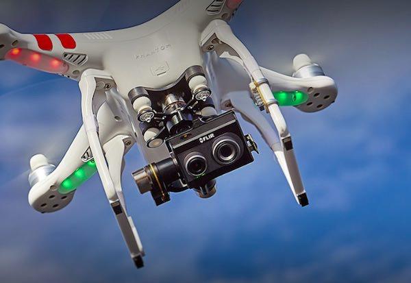 flir duo pensata per droni