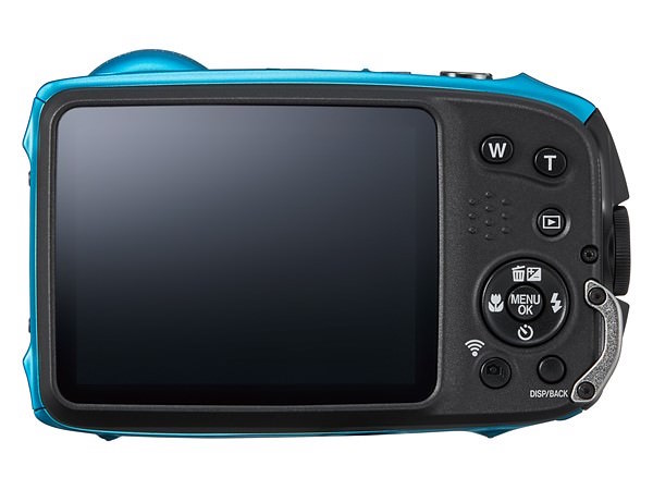 fujifilm finepix xp120 display compatta digitale