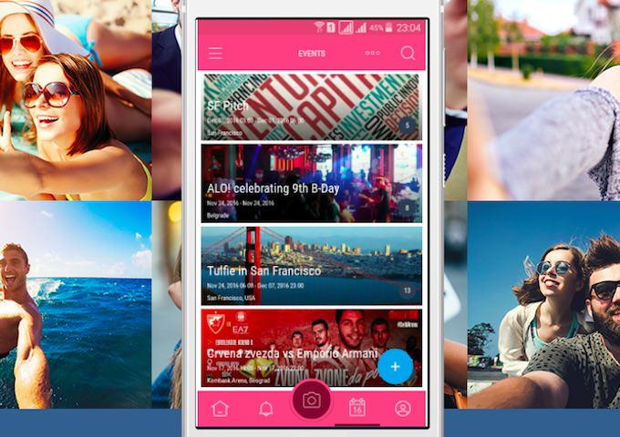 social network tulfie eventi per android