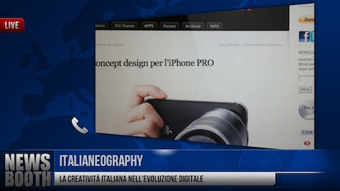 Newsbooth foto iphone