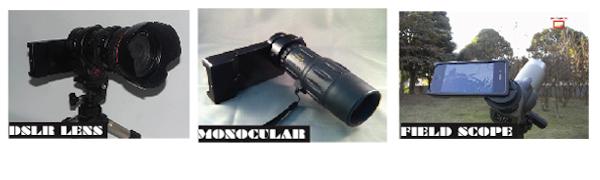 adattatori fotografia trasforma iphone in DSLR