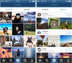 Instagram nuova pagina explore