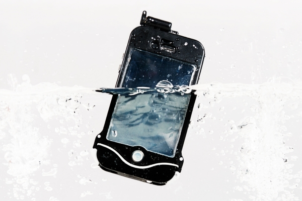 custodia per iphone a prova d'acqua scuba suit