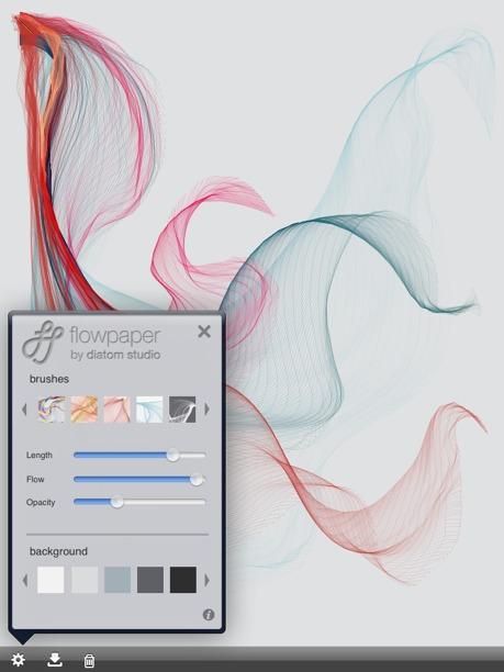 foto disegno arte per iphone e ipad con flowpaper