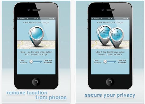proteggi dati foto cellulare cancella dati exif