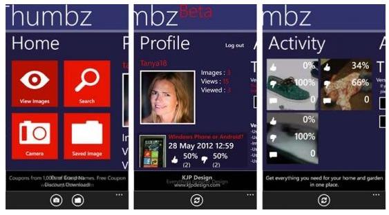 foto condivisione per cellulari windows phone thumbz