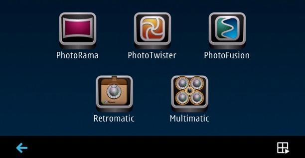 fare foto con symbian con camera lover pack di scalado