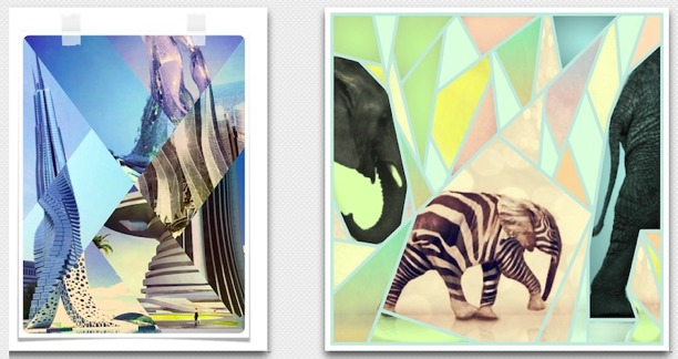 fuzel crea collages con iphone iphoneografia