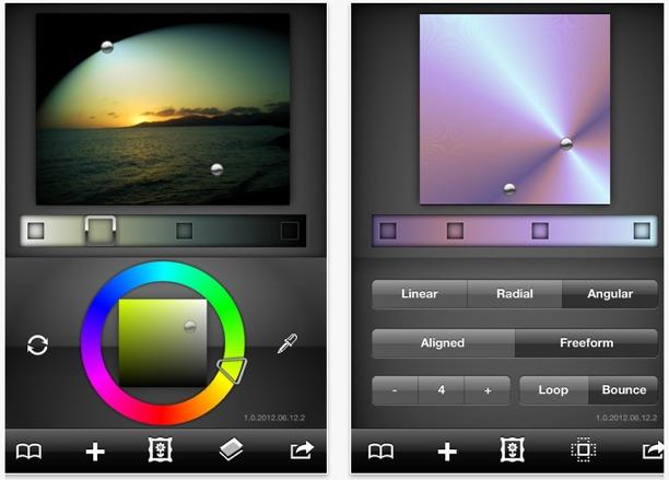iphoneografia ipadografia creazione di colori e sfondi