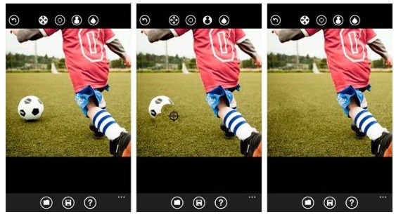 clonare una foto con photopatcher per windows phone