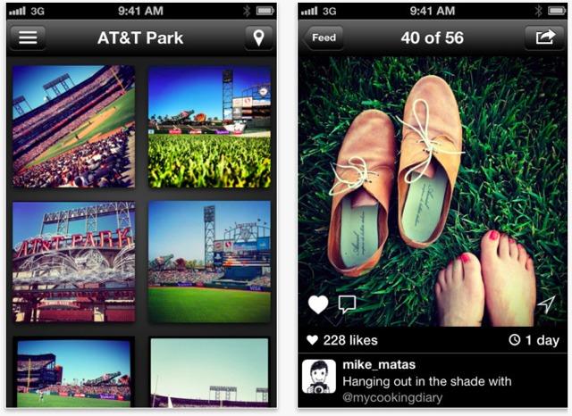 client instagram per iphone film