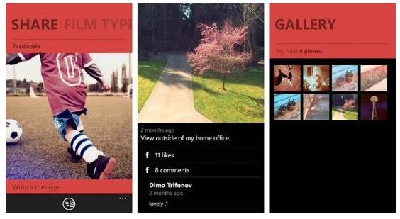 app di fotografia per cellulari windows memento