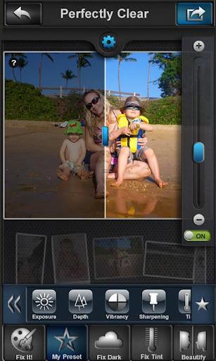 perfectly clear per fotografia iphone ipad ed android