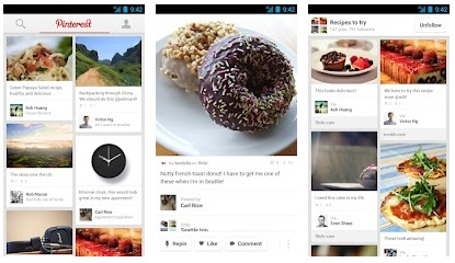 pinterest per android