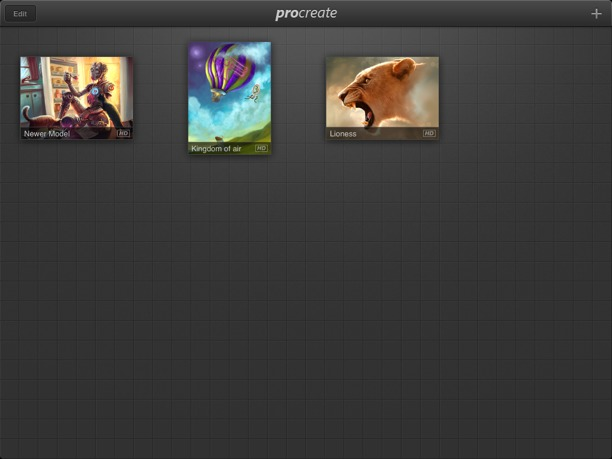 Procreate per iPad1