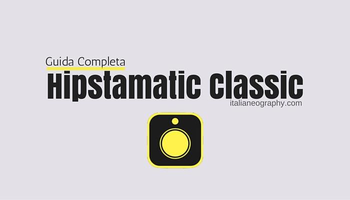 guida hipstamatic classic