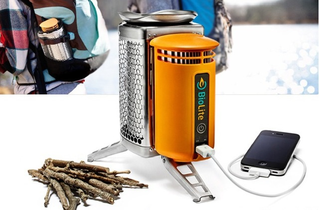 carica batteria iphone android da campeggio