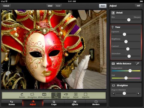 app per fotografia camera+ su ipad