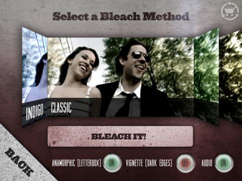 video editing filtri cinebleach iphone e ipad