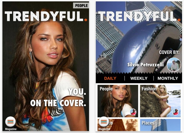 trendyful iphone social network