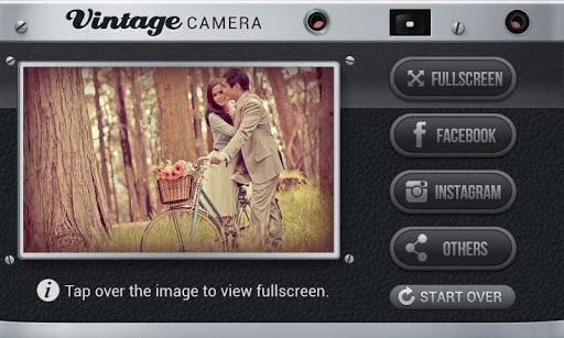 Vintage camera per fotografia android
