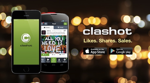 Clashot per iPhone e Android