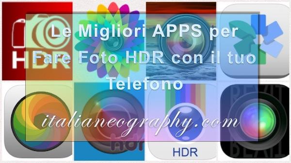 App per Fare Foto HDR