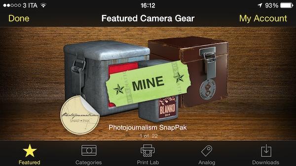 Photojournalism SnapPak