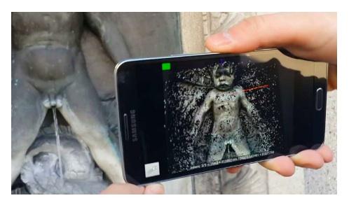 ecco come uno smartphone potr diventare uno scanner 3d. Black Bedroom Furniture Sets. Home Design Ideas