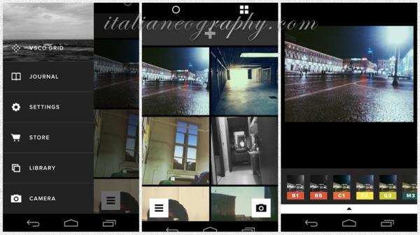 VSCO Cam per Android Edit