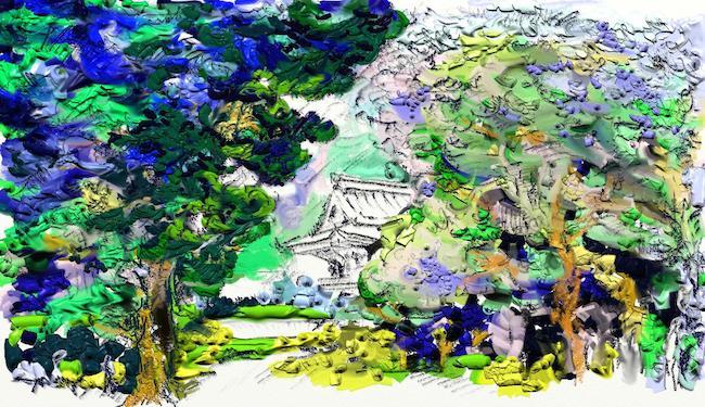 disegnare e dipingere su iPad