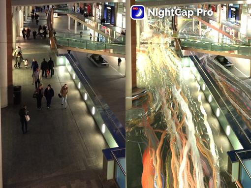 Light trail con nightcap pro