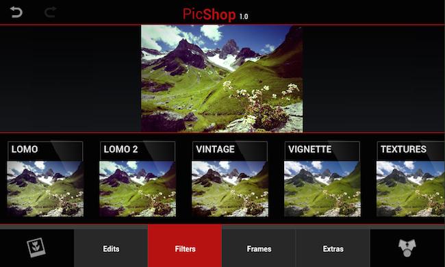 PicShop Blackberry