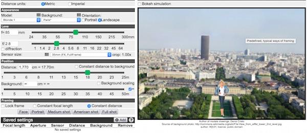 Eccellente simulatore online gratuito di profondit di campo for Simulatore di costruzione di case online