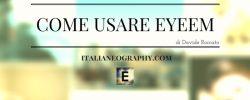 guida su come usare EyeEm