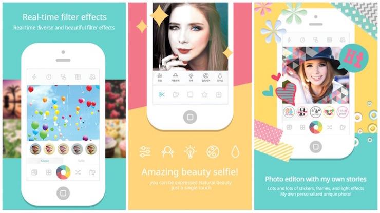 candy camera selfie iphone