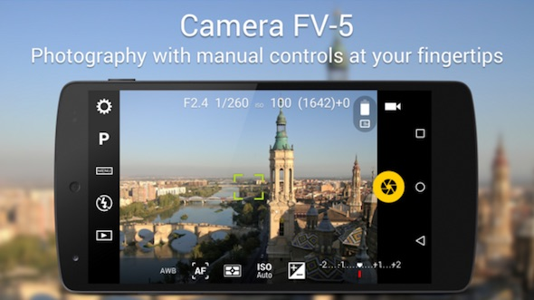camera fv5 raw android