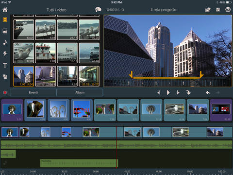 pinnacle studio app per video