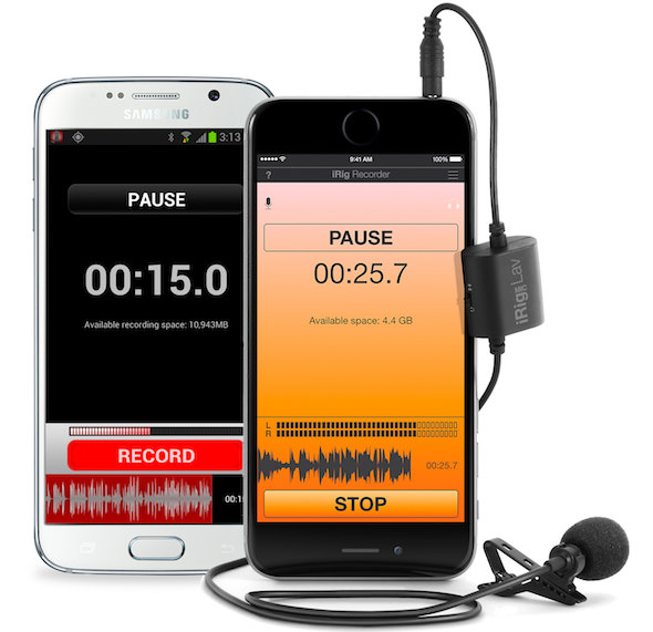 registrare audio professionale iphone android