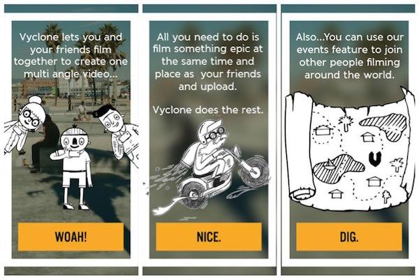 vyclone app video