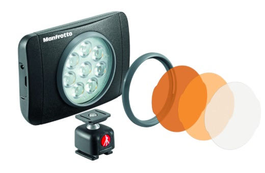 luci led manfrotto lumie fotografia