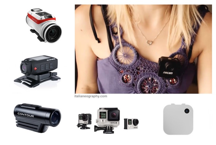 migliori fotocamere indossabili action camera