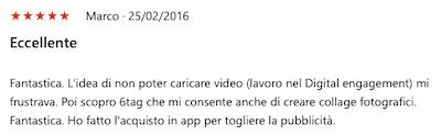 commento 6tag