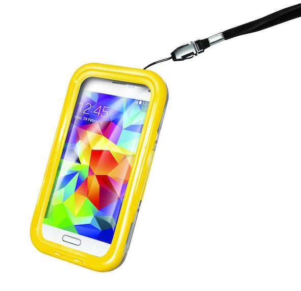 custodia celly protezione acqua smartphone