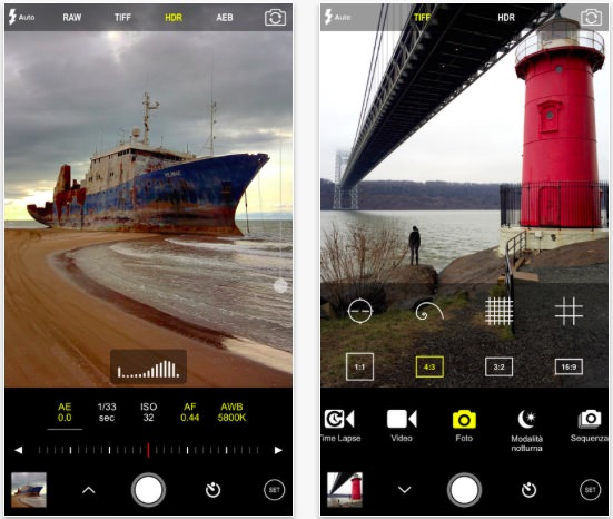 procam app manuale iphone