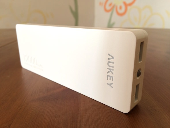 batteria aukey esterna portatile bianca
