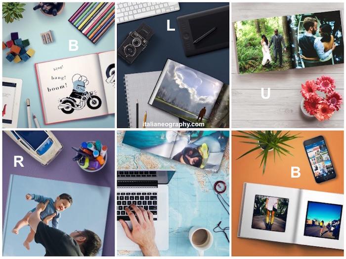 come creare libro foto blurb
