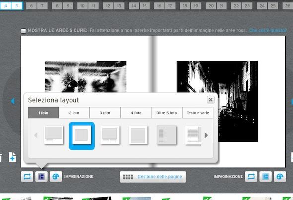 come creare ebook foto blurb e i diversi layout del libro
