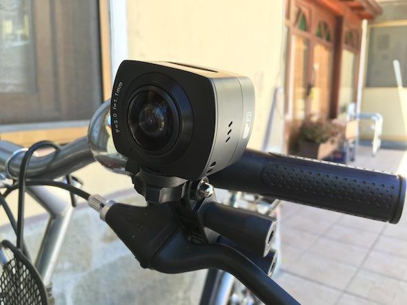 fotocamera amk100s bicicletta