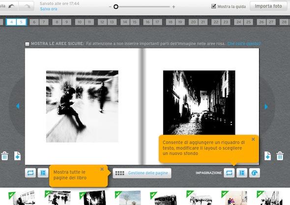 mostrare le guida su bookify per ebook fotografia